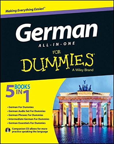 German All-in-One For Dummies, with CD, by Wendy Foster, Paulina Christensen, Anne Fox
