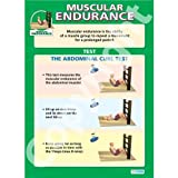 Human Muscular Endurance PE Educational Wall ChartPoster in laminated paper A1 850mm x 594mm