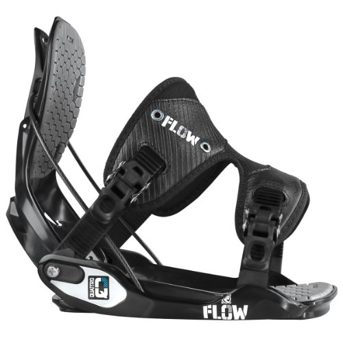 Flow Quattro Snowboard Binding Black, XL