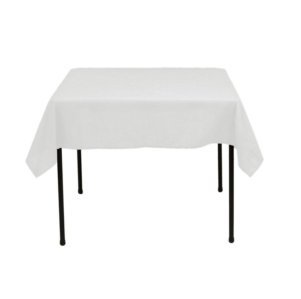 ArtOFabric LinenTablecloth 52-Inch Square Ambassador Tablecloth White [Misc.] at Sears.com