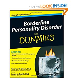 Borderline Personality Disorder For Dummies Charles H. Elliott and Laura L. Smith