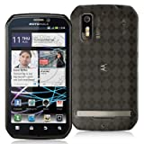 High Gloss Argyle Smoke Flexible TPU Cover Skin Phone Case for Motorola Pho ....