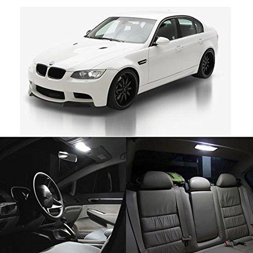 Partsam White Interior LED Light Package Kit for 2006-2011 BMW E90 E91 E92 E93 335D 335i 335is 328i 335i xDrive M3 330i 330xi 325xi 325i 335xi (20 Pieces) (Bmw Led Interior Lights compare prices)