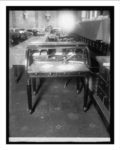 Historic Print (Xl): Old Desk, Supreme Court Chamber, [Washington, D.C.]