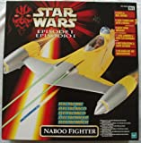 Star wars Episode 1 Electronic Naboo Fighter By Hasbro - mint condition