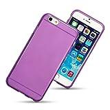 Qubits - Apple iPhone 6 4.7'' TPU Gel Skin Case / Cover - Purple Part Of The Qubits Accessories Range