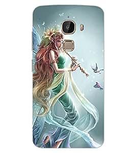 ColourCraft Gracious Angel Design Back Case Cover for LeEco Le 2