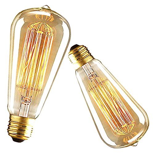 Antique Edison Style Incandescent Clear Glass Lamp Bulb