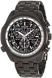Citizen Men's Eco-Drive Perpetual Calendar Chronograph Watch Black BL5405-59E
