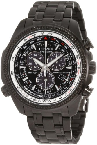 Citizen Men's BL5405-59E Eco-Drive Perpetual Calendar Chronograph Watch