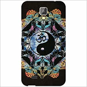 Gionee Pioneer P2S Back Cover - Silicon Abstract Designer Cases
