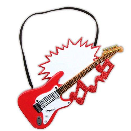 Personalisierte-Weihnachtsschmuck-Hobbyactivities-electric-Gitarre
