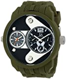 Joshua & Sons Men's JS52GN Green Multi-Function Watch