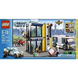 LEGO City Special Edition Set 3661 Bank Money Transfer