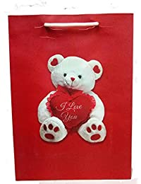 Teddy Bear Paper Bags Pack Of 10 Pcs
