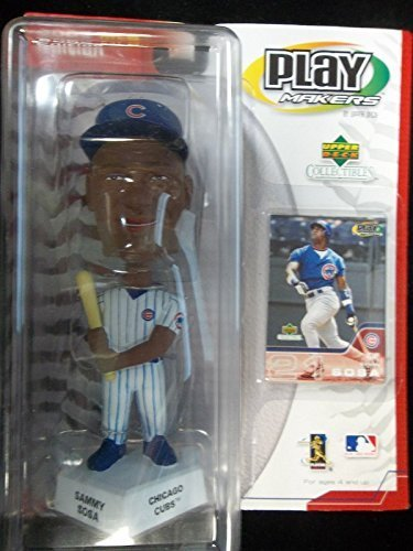 2002 Sammy Sosa Bobble Head Upper Deck Statue Figure