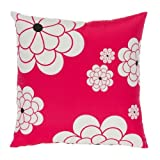 Big Blooms Mod Floral Pillow