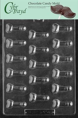 Cybrtrayd XX501 Teenie Weenie Chocolate Candy Mold with Exclusive Cybrtrayd Copyrighted Chocolate Molding Instructions