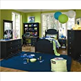 Lea Lea My Style Kids Panel Bed 6 Piece Bedroom Set in Twin Size