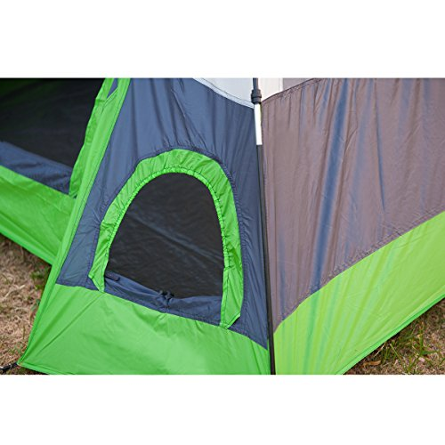 Semoo-Water-Resistant-D-Style-Door-4-Person-  sc 1 st  Rugged Adventureware House : rugged tent - memphite.com
