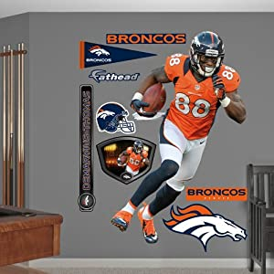 NFL Denver Broncos Demaryius Thomas Wall Graphics by Fathead