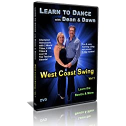 West Coast Swing Vol 1 - Learn the Basics & More (Learn to Dance with Dean and Dawn)