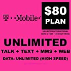 T-mobile Sim Card Unlimited Talk