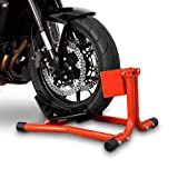 Motorcycle Front Wheel Stand ConStands Easy Red for Ducati 1098, 1198, 1199 Panigale, 748, 749, 848/ Evo, 888, 916, 996, 998, 999, Diavel, GT 1000, Hypermotard 796/1100/ Evo, Monster 1000, Monster 1100/ Evo, Monster 600/ Monster 620/ Monster 695/ Monster