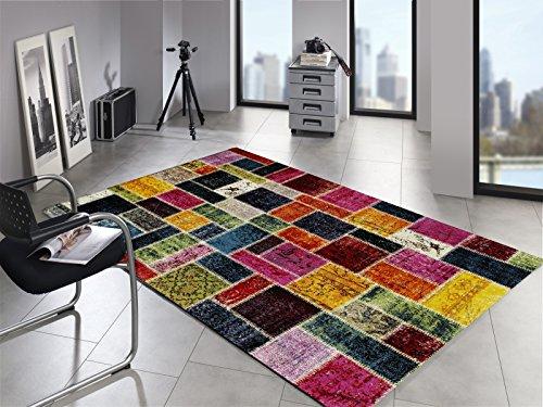 ARTWORK-PATCHWORK-Patchwork-Vintage-Teppich-bunt-in-multicolor-Gre-65x130-cm