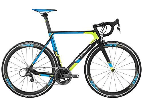 Bergamont-Prime-RS-Team-Carbon-Rennrad-schwarzblaugelb-2016-Gre-50cm-162-168cm