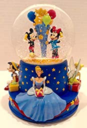 Disney Musical Birthday Water Globe