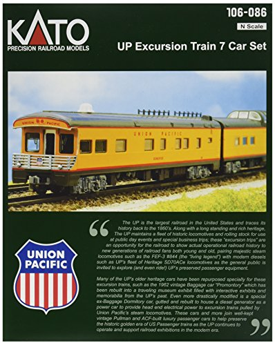 kato-usa-model-train-products-n-scale-union-pacific-excursion-train-7-car-set