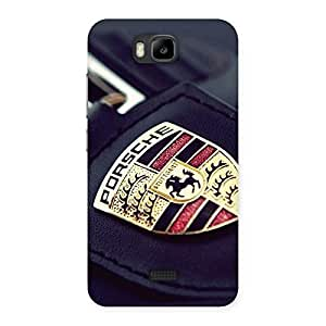 Porse Multicolor Back Case Cover for Honor Bee
