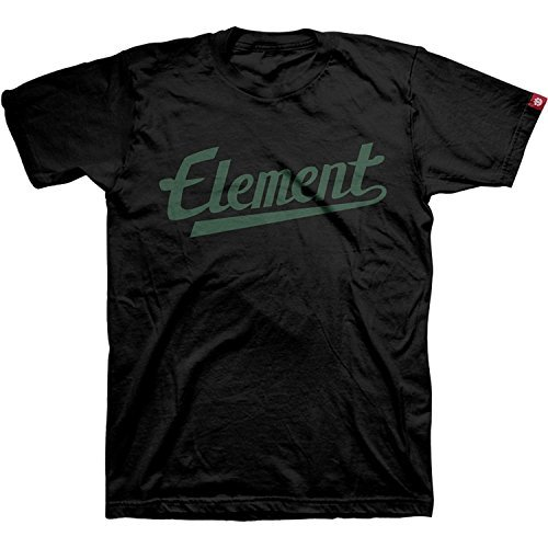 Element Script Fill T-Shirt - Size: X-LARGE Black by ELEMENT