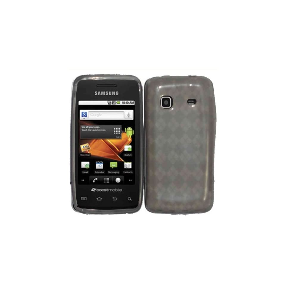 Smoke TPU Case Cover for Samsung Prevail Precedent M820 M828C Cell Phones & Accessories