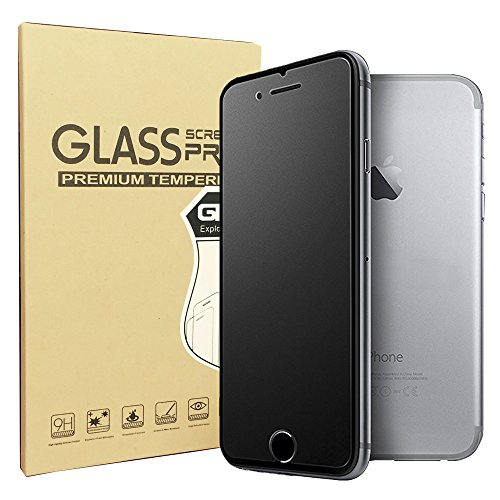 iPhone 7 Plus Matte screen protector, Sonto 9H Hardness Tempered Glass Film Anti-Fingerprint Anti-glare Film for iPhone 7 Plus 5.5 inch, 0.3 mm Ultra Slim, Touch Smooth as Silk (iPhone 7 Plus)