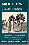 img - for Middle East: A Directory of Resources book / textbook / text book