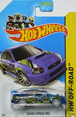 Hot Wheels 2014 Road Rally Hw Off-Road Subaru Impreza WRX 108/250 - 1