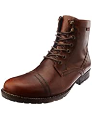 Red Tape Men's Leather Boots - B00NP00NWM