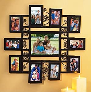 Amazon.com - COLLAGE WALL DECOR MULTI PHOTO PICTURE FRAME
