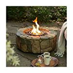 Gas Fire Pit Outdoor Backyard Garden Deck Patio Propane Stone Fireplace Heater Best Selling Item from na