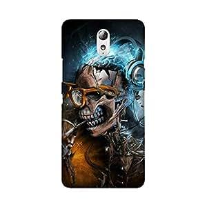 StyleO Lenovo Vibe P1m Designer Printed Case & Covers Matte finish Premium Quality (Lenovo Vibe P1m Back Cover) - Lord Ganesha