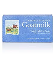 Crabtree & Evelyn® Goatmilk Soap Set of 3 x 100g
