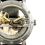ESS Men's Silvered Case Skeleton Dial...