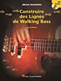 Construire des Lignes de Walking Bass + CD