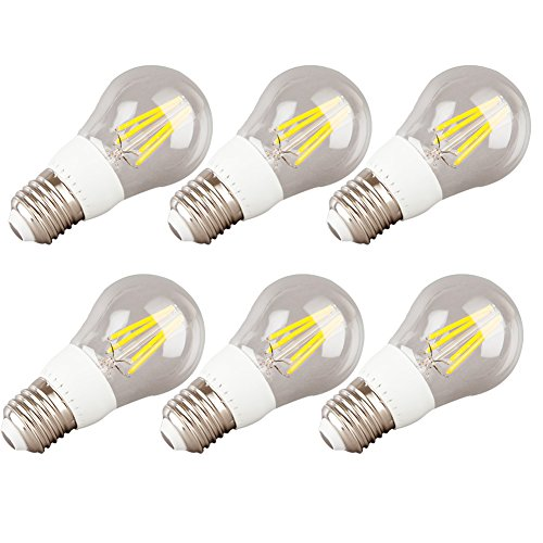 Generic Led Filament Bulb Lamp 4W Warm White Light E27 85-265V