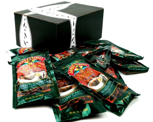 Land O Lakes Cocoa Classics, Irish Creme & Chocolate Hot Cocoa Mix, 1.25 Oz Packets In A Gift Box (Pack Of 12) front-445315