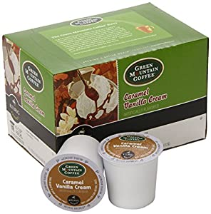 Keurig, Green Mountain Coffee, Caramel Vanilla Cream, K-Cup 144 Counts