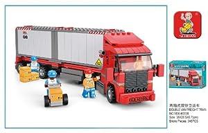 345 Piece City Freight Truck Building Blocks Set Lego