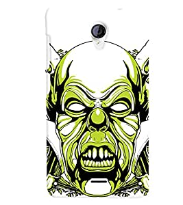 TOUCHNER (TN) Scary Back Case Cover for MICROMAX UNITE 2
